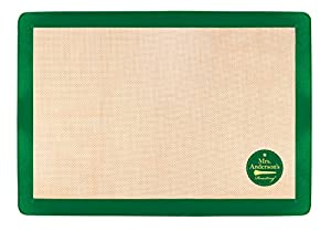 Mrs. Anderson's Baking Non-Stick Silicone Baking Mat, 11.625-Inch x 16.5-Inch