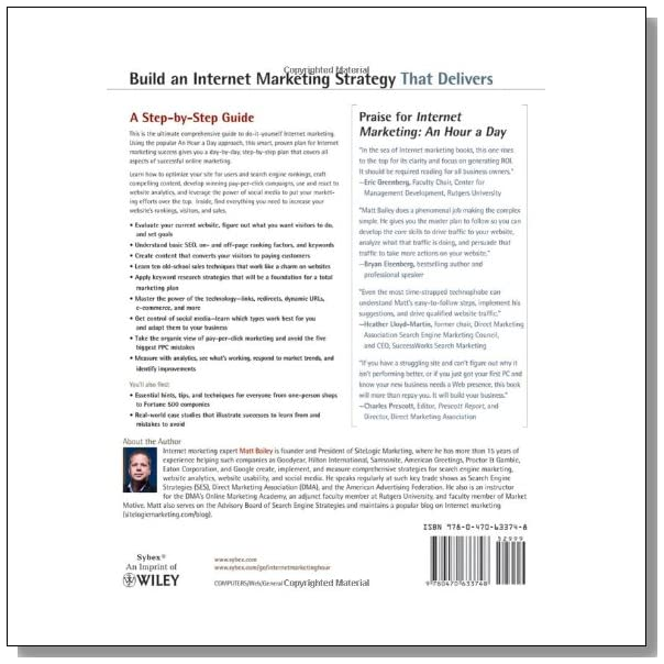 Internet Marketing: An Hour a Day