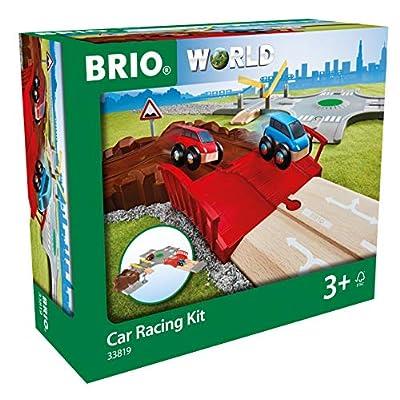 Brio 33819 World-Car Racing Kit, Multicoloured: Toys & Games