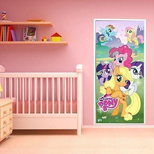 Walplus 200x86 Cm Wall Stickers Hasbro My Little Pony Door