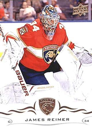 7a5778a17cd 2018-19 Upper Deck  80 James Reimer Florida Panthers NHL Hockey Trading Card