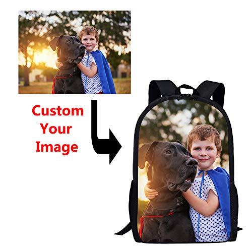 Coloranimal Unique Custom Your Own Picnic Children School Backpacks Big Capacity 16 Inch Shoulder Bagpack