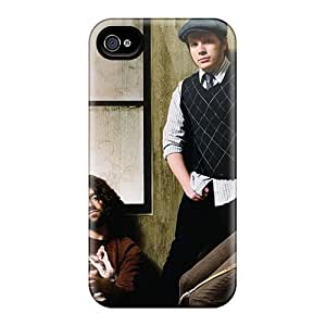 Excellent Hard Cell-phone Case For Apple Iphone 4/4s With Allow Personal Design Attractive Celebrities Fall Out Boy Pattern LauraFuchs