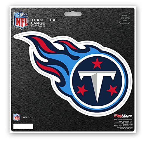 (ProMark NFL Tennessee Titans Unisex Tennessee Titans Decal Die Cuttennessee Titans Decal Die Cut, Team Color, 8x8)