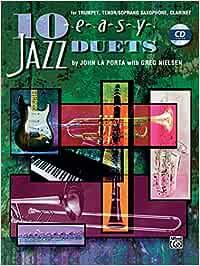 10 Easy Jazz Duets - Bb Instr: Amazon.es: Porta, John La ...