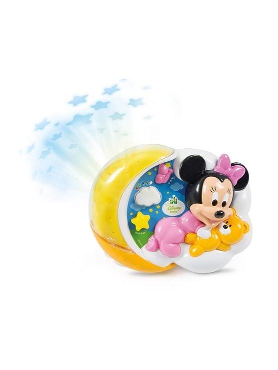 Clementoni - Proyector mágico de Estrellas Minnie Multicolor ...