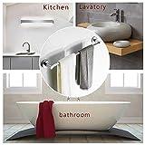 BESy Adjustable Single Towel Bar for Bathroom