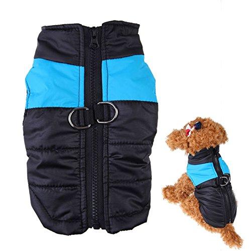 bluee XXXL bluee XXXL TecGeo(TM) hot selling XS-4XL big dog pet dog winter clothes large dog jacket pet Warm clothing dog down vest large pet