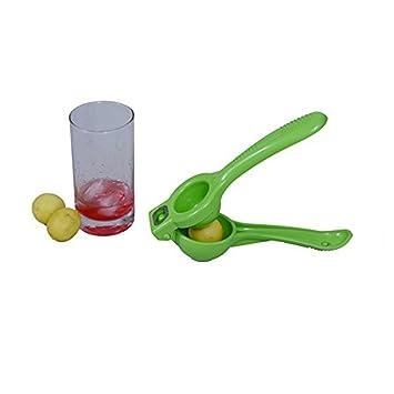 2 en 1 limón Exprimidor con abrebotellas adjunta exprimidor - más fuerte Squeezers - Exprimir limones, limas y abre botellas sin esfuerzo - verde: ...