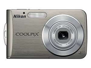 Nikon Coolpix S210 8MP Digital Camera with 3x Optical Zoom (Brushed Bronze)