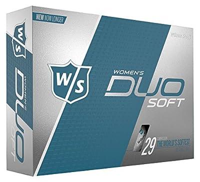 Wilson Staff Duo Soft Golf Balls, Women's