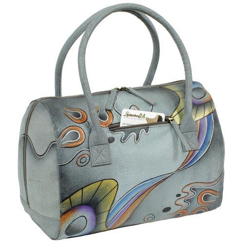 Set regalo–exklusiver Greenland Nature Keychain + Art & craft Borsa a tracolla borsa a mano Borsa a mano Borsa a tracolla borsa donna shopper in pelle 32cm dipinta a mano