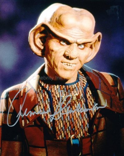 ARMIN SHIMERMAN as Quark - Star Trek: Deep Space Nine Genuine Autograph from Celebrity Ink