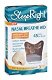 Sleep Right Nasal Breathe Aid 3 CT (Pack of 9)