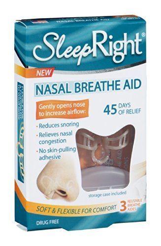 Sleep Right Nasal Breathe Aid 3 CT (Pack of 6)