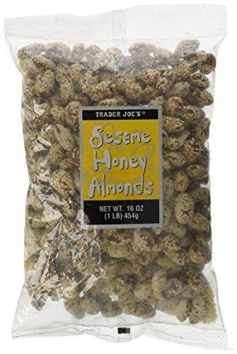 Trader Joe's Sesame Honey Almonds 16oz (00649056) ()