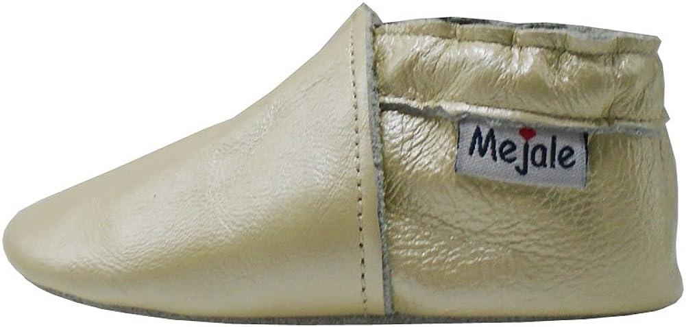 Mejale Baby Shoes Soft Soled Leather Moccasins Skull Infant Toddler Pre-Walker
