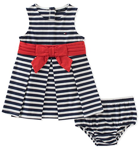 d1c1e2f3 Amazon.com: Tommy Hilfiger Baby Girls Dress with Panty: Clothing
