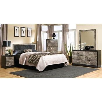 Amazon.com: Kith Furniture Memphis Bedroom Set -Panel ...