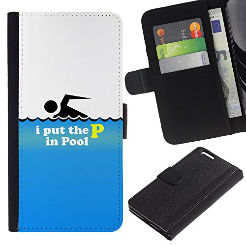 OMEGA Case / Apple Iphone 6 PLUS 5.5 / PUT ON THE ARMOR OF GOD - EPHESIANS 6:11 / Cuir PU Portefeuille Coverture Shell Armure Coque Coq Cas Etui Housse Case Cover Wallet Credit Card