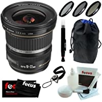 Canon EF-S 10-22mm f/3.5-4.5 USM SLR Lens + Deluxe Accessory Kit Key Pieces Review Image