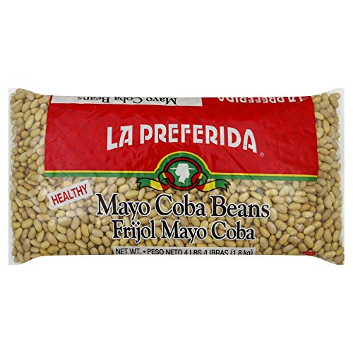 La Preferida Mayo Coba Beans, 64-Ounce (Pack of 6) by La Preferida