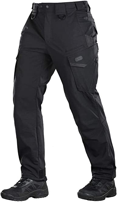 Amazon Com M Tac Pantalones Tacticos Aggressor Policia Bolsillos De Carga De La Policia Straight Clothing