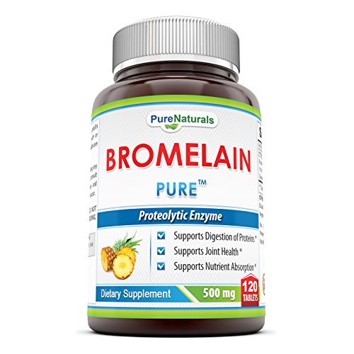 Pure Naturals Bromelain Dietary Supplement