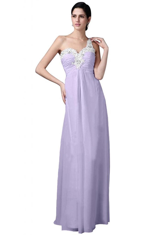 Sunvary Stylish Chiffon One-Shoulder Sweetheart Evening Dress Bridesmaid Dress