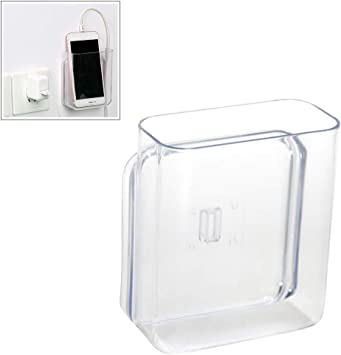 Mallalah - Soporte de pared para mando a distancia, caja organizadora para aire acondicionado, caja de TV, estéreo, mando a distancia de TV, blanco: Amazon.es: Bricolaje y herramientas