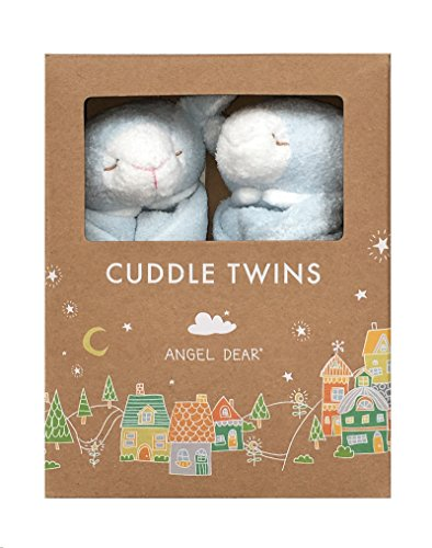 Angel Dear Cuddle Twin Set, Blue Lamb by Angel Dear