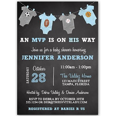 baby boy shower invites