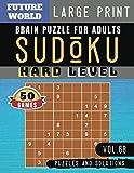 Sudoku Hard: killer sudoku large print | 50 Extreme Hard Sudoku books Puzzles and Solutions Large Print Perfect for Brain Sharper