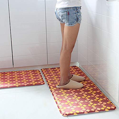 Suave Carpet Pequeña Y Estera Cocina De Piso C Lavable machine Antideslizantes Puerta Alfombras Alfombras Antideslizante q0wqgz