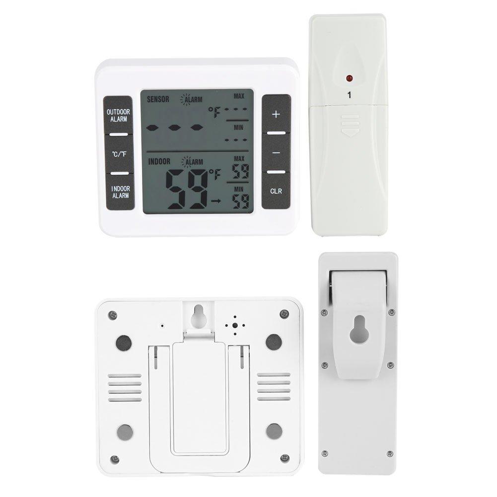 Termómetro inalámbrico para refrigerador, Termómetro digital ...