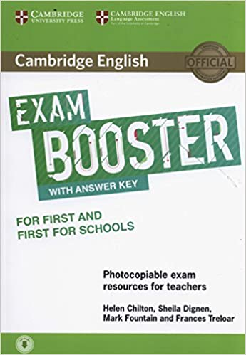 Book Cambridge English Exam Booster for First and First for Schools with Answer Key with Audio: Photocopiable Exam Resources for Teachers (Cambridge English Exam Boosters)