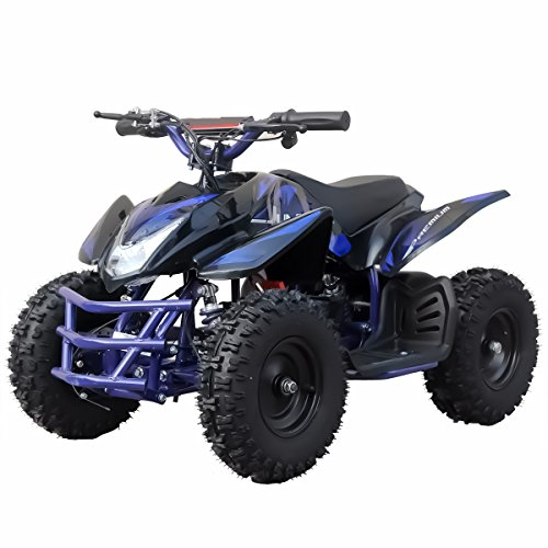 V-Fire TTN 350W 24V Electric Ride-On ATV for Kids, Blue