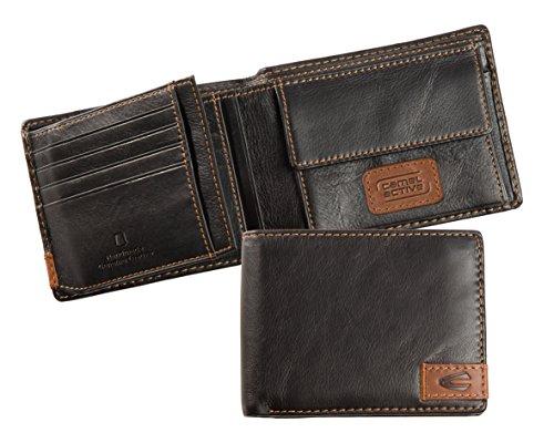 703 Noir Schwarz 128 Porte monnaie Active Camel 60 Ix6wYvqxH4