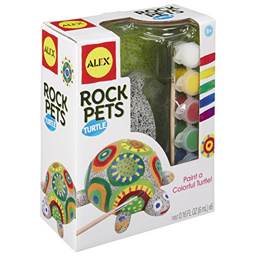 ALEX Toys Craft Rock Pets Turtle, Multi]()