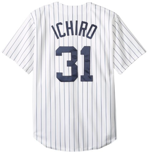 059bb28d5 MLB Mens New York Yankees Ichiro Suzuki Home Replica Baseball Jersey - Buy  Online in UAE.