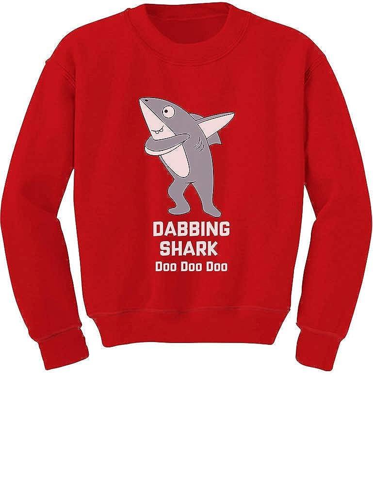 Tstars Dabbing Dancing Shark Funny Dub Gift Toddler//Kids Sweatshirt