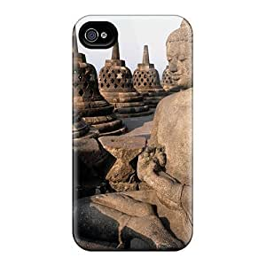 Fashion Protective Buddha Case Cover For Iphone 4/4s