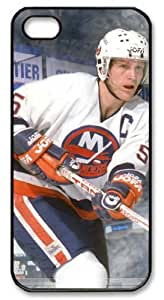 LZHCASE Personalized Protective Case For Iphone 4/4S Cover NHL New York Islanders #5 Denis Potvin