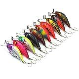 Aorace-10pcslot-Minnow-Fishing-Lure-Crank-Bait-Hooks-Bass-Crankbait-Tackle-75cm102g-Isca-Artificial-Para-Pesca-Hard-Bait