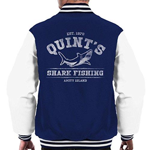 Quints Varsity Jaws Shark Men's Jacket Fishing 1qKBRdKw