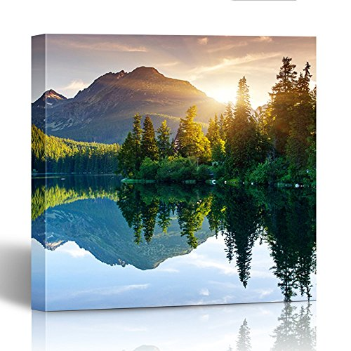 Emvency Painting Canvas Print Wooden Frame 20