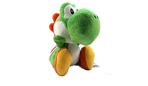 Amazon.com: Sanei - Super Mario Bros. peluche Yoshi Vert 25 cm: Computers & Accessories