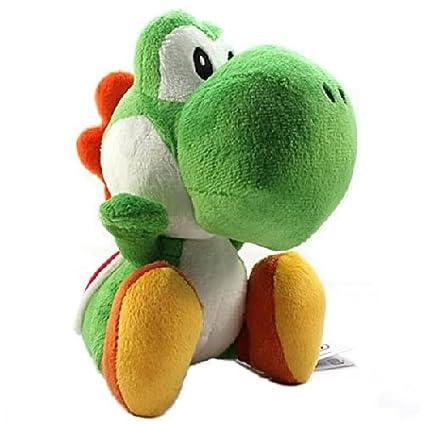 Sanei - Super Mario Bros. peluche Yoshi Vert 25 cm