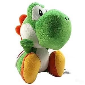 Beta Service 365382 Super Mario Yoshi - Muñeco de peluche (26 cm) - Peluche Yoshi 25 cm