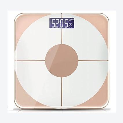odefc Balanzas electrónicas pesando el peso del hogar grasa corporal grasa corporal grasa adulta escalas de